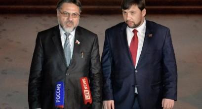 Denis Pusilin i Vladimir Dajnego