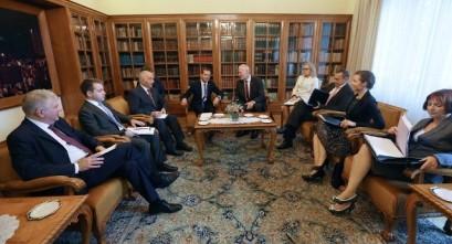 Medvedev i Cerar