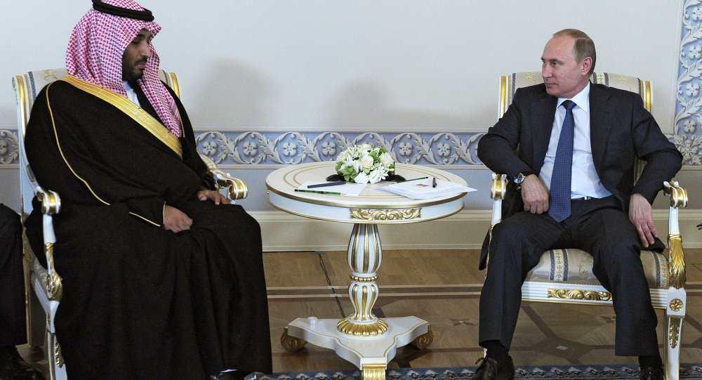 Putin, Saudijska arabija