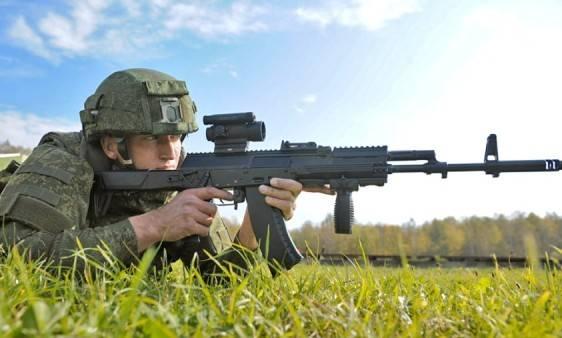 Ruski vojnik-puska-kalasnjikov