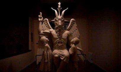 djavo statua