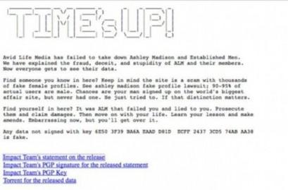 vrijeme je isteklo 409x269 Хакерски напад године: Објављена имена 37 милиона прељубника, међу њима службеници Беле куће, Ватикана, УН... (ВИДЕО)