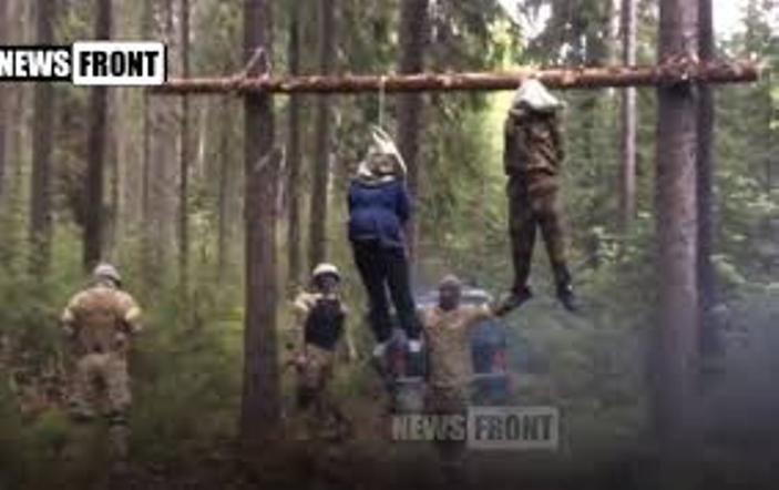 UKRAJINSKI VOJNICI1 Ратни злочини украјинских војника   мучења и нечовечни однос (ФОТО)