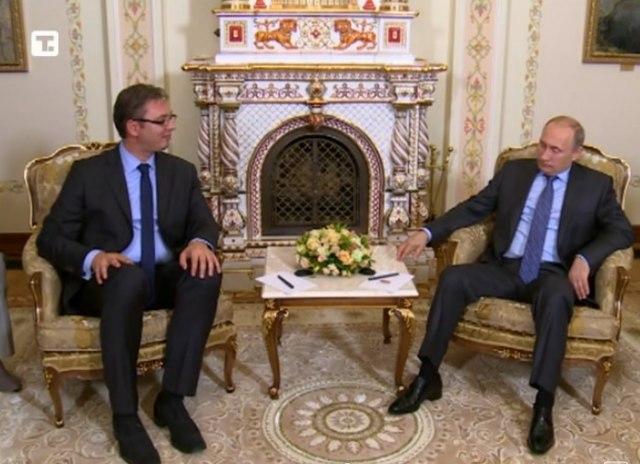 vucic i putin Vučić sa Putinom 28. oktobra