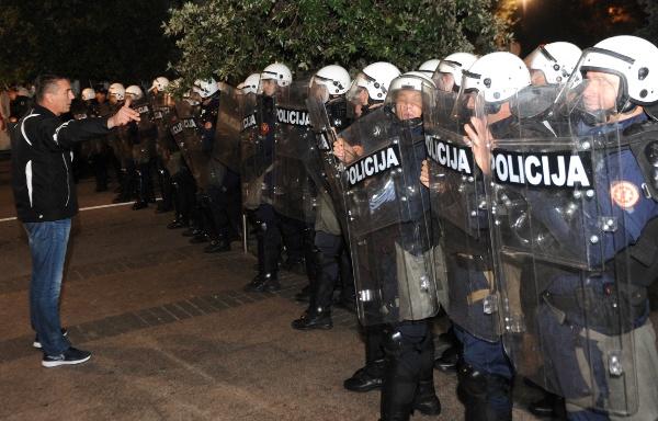 DF policija 509 Русија: Полицијско насиље у Подгорици за жаљење