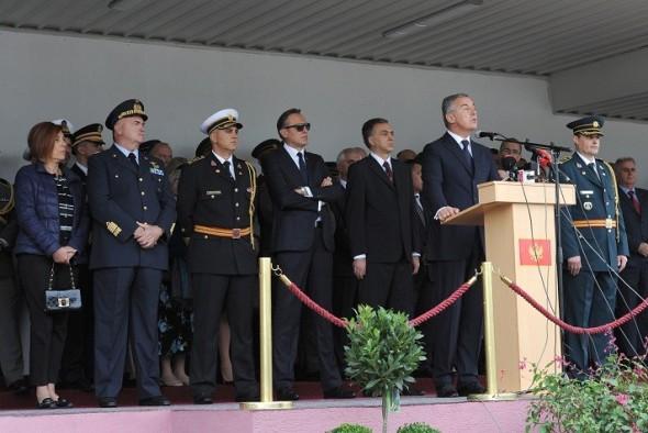 Milo, Filip, Ranko, Vojska CG