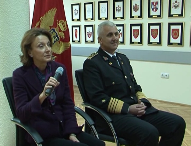 pejanovic samardzic 1 Војска Црне Горе: За НАТО спремни само министарка одбране и начелник Генералштаба