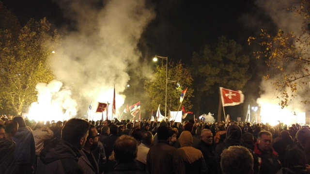 antiNATO protest