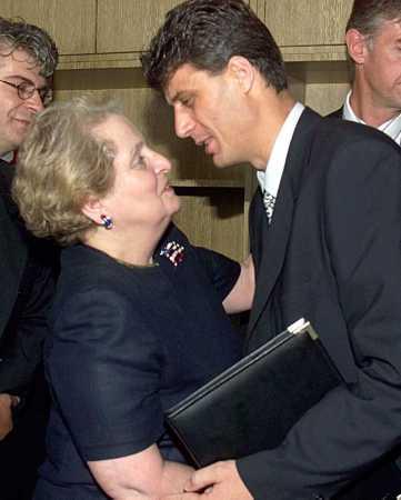 Madeleine Albright et Hashim Thashi Рат НATO а против Срба, највећи злочин у историји свијета