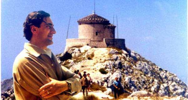 Komnen Becirovic na Lovcenu 1969 1 Осам деценија Комнена Бећировића