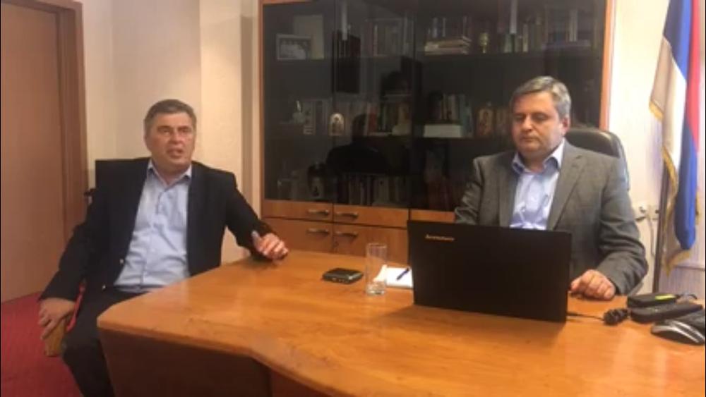 Slaven Radunovic i Milutin Djukanovic Радуновић: Не постоје никакви докази који би се могли искористити против ДФ а (ВИДЕО)