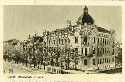 Ulica u Osijeku kuda je prosla stafeta 1932