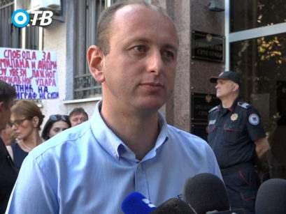 Milan Knezevic 409x307 Фронт након одлагања суђења: Зауставићемо државни терор током монтираног политичког процеса (ВИДЕО)
