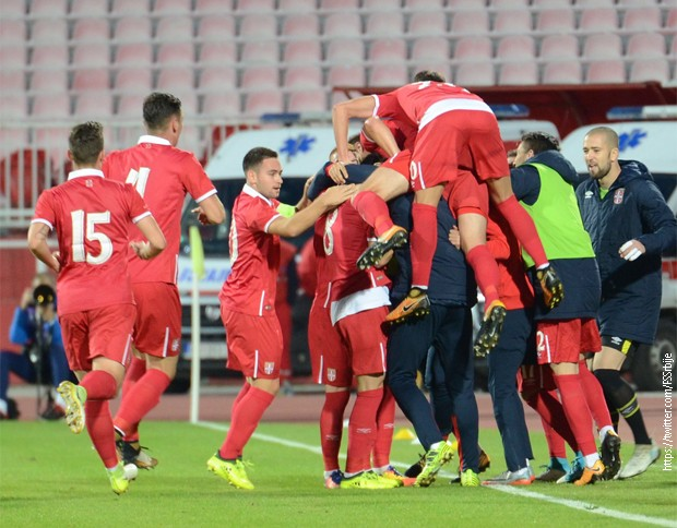 Srbija 1 Реми фудбалера Србије у Кореји