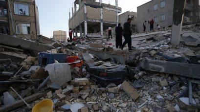 zemljotres3 409x229 Земљотрес погодио Ирак и Иран; Преко 200 страдалих, скоро 3.000 повријеђених