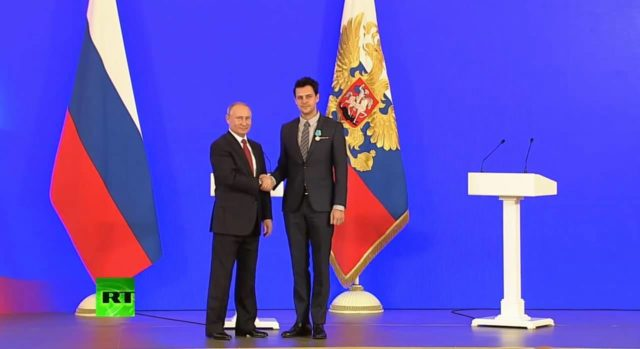 Putin i Biković