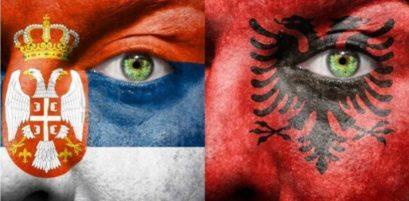 Srbija vs Velika Albanija