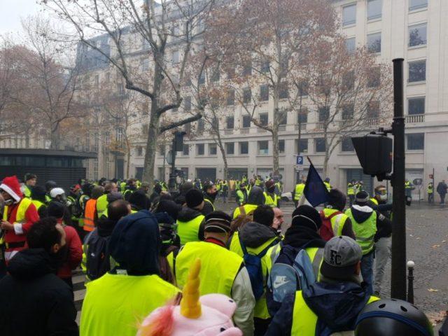 pariz protest