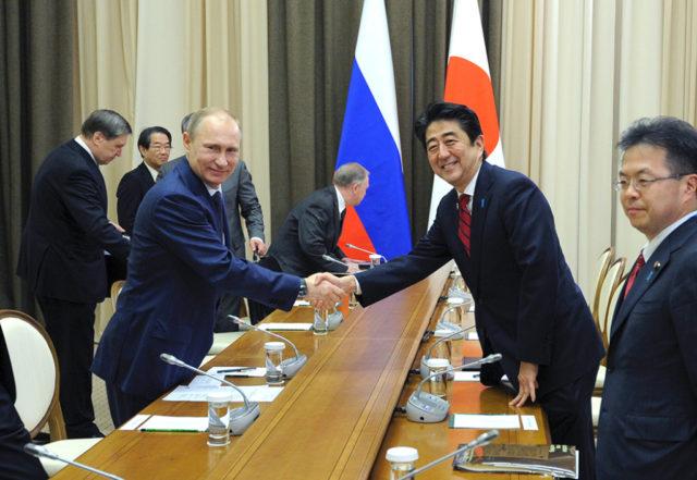 Putin i Abe