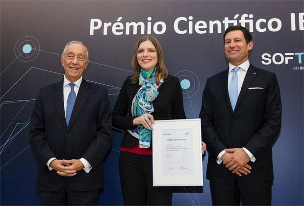 Predsjednik Marselo Rebelo de Sosa (levo) i dr Marija Vranić Foto Debora Rodrigez Foto: Novosti