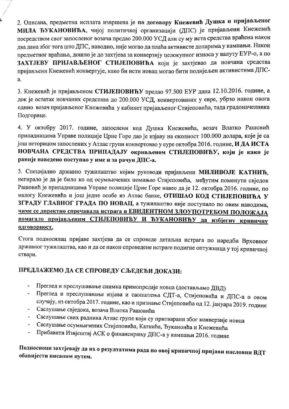 Prijava DF-a protiv Stijepovica and co.