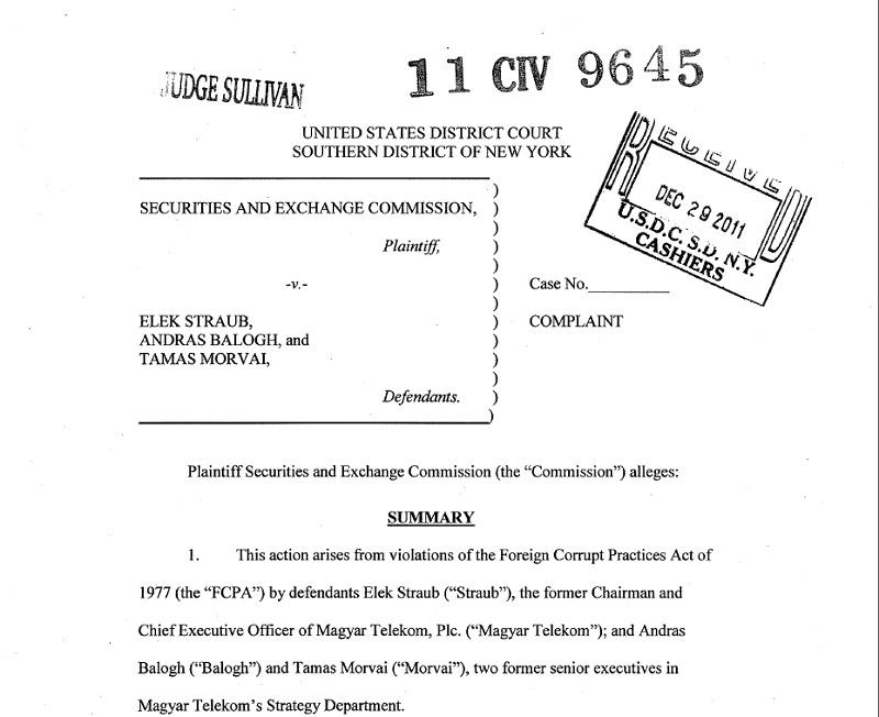 Службеници Владе Црне Горе примили мито од 7,35 милиона долара током приватизације Телекома - оптужница у САД-у 2