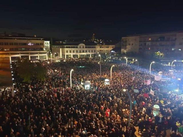 Euronews, protesta