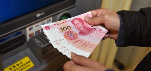 Kina, novac, bankomat