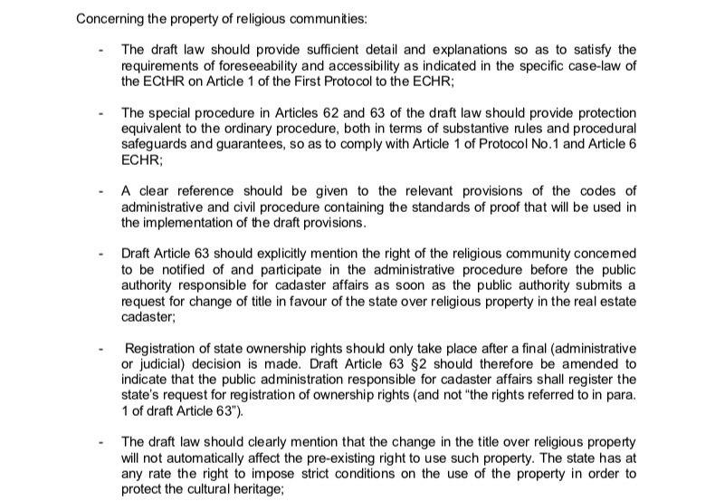 Венецијанска комисија: Нема отимачине имовине СПЦ, Црна Гора мора да докаже да је власник у парничном поступку! 2