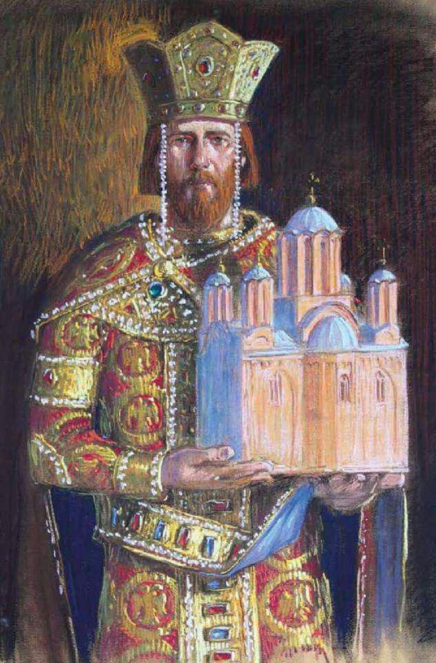 На данашњи дан 1377: Крунисан краљ Стефан Твртко Котроманић у манастиру Милешева