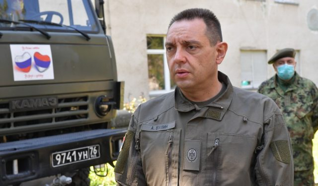 Вулин: Српски војници на протестима у Белорусији су фотомонтажа