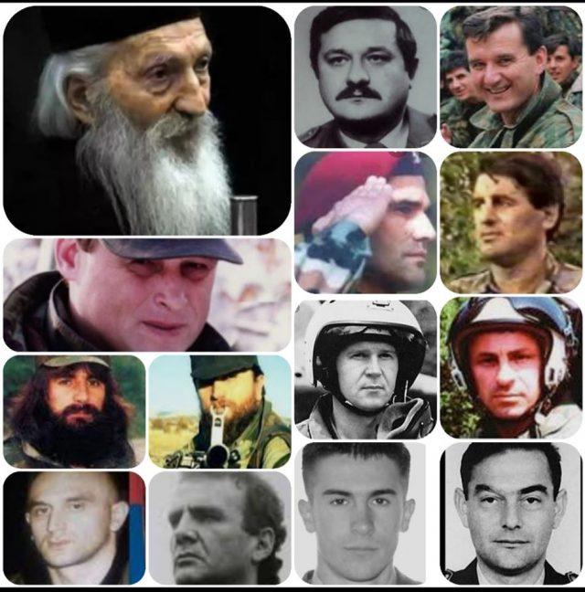 Славко Перошевић: Небеска литија српских хероја