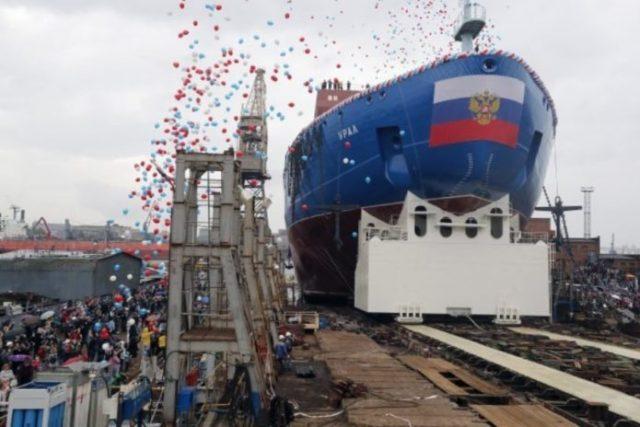 Самый мощный ледокол в мире «Арктика» официально вошел в состав атомного флота России