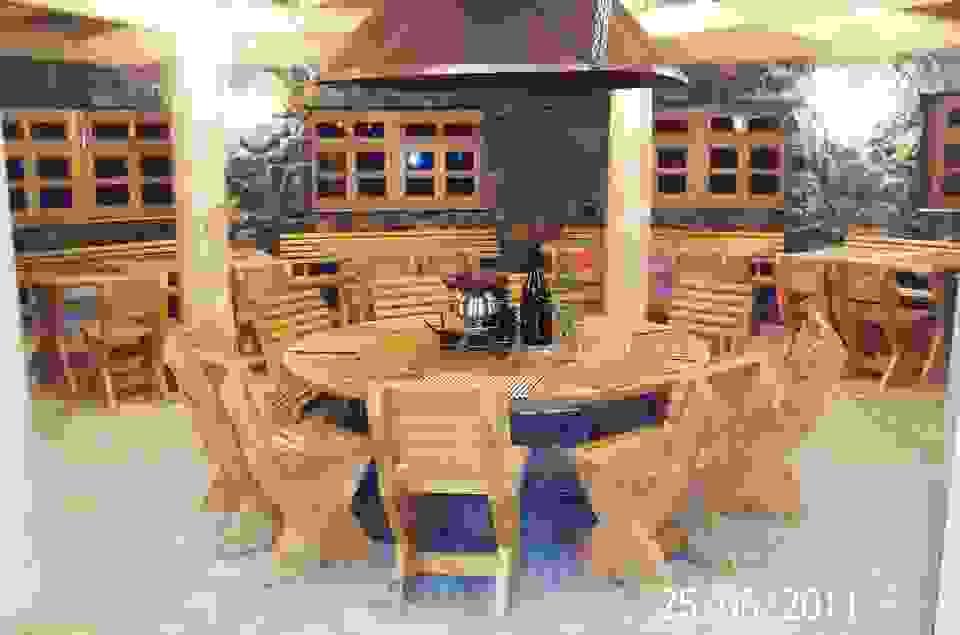 Unutrasnjost etno restorana Kozak