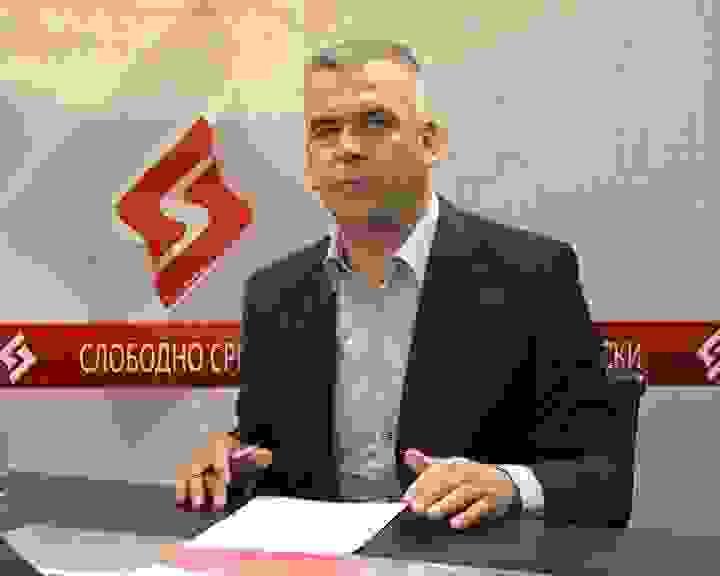 budimir nicic u studiju, emisija slobodno srpski