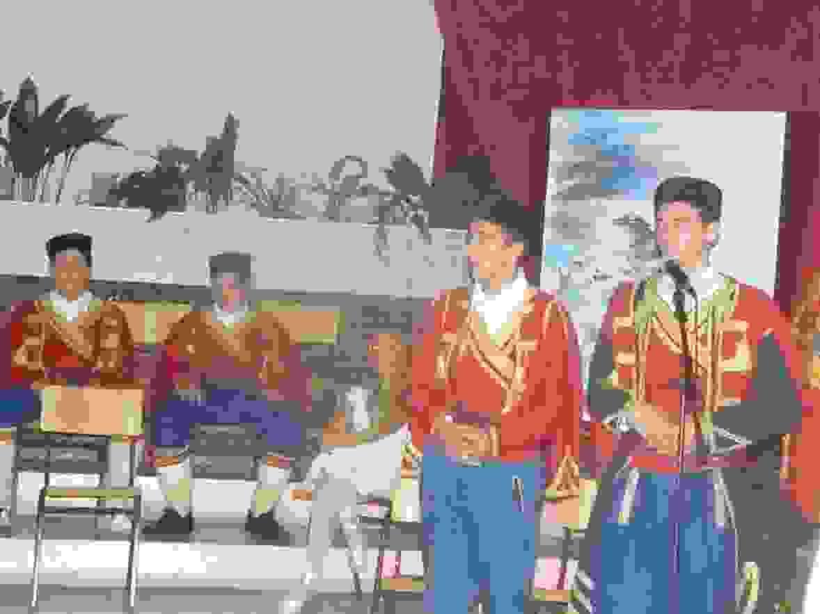 predstava iz Gorskog vijenca, OS Kekec Sutomore